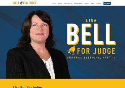 Nav Political Website Lisa Bell for Judge