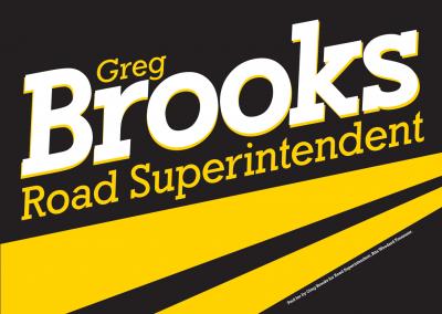 Greg Brooks Road Superintendent