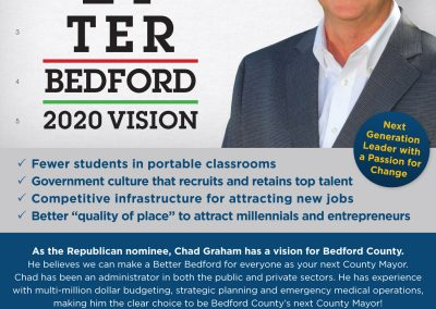 Chad Graham Print Ad