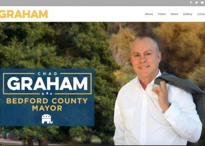 Chad Graham Bedford County Mayor