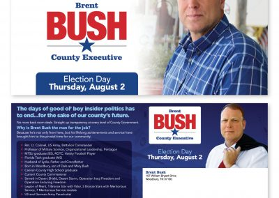 Brent Bush Direct Mail Piece