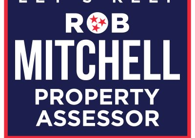Rob Mitchell Yard Sign