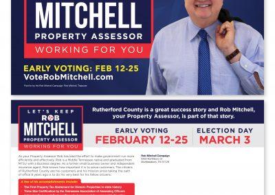 Rob Mitchell Direct Mail Piece